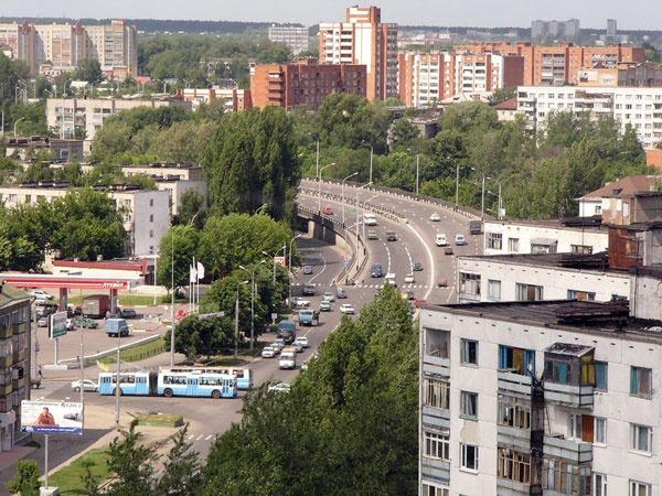 Город Пенза перекрёсток Суворова и Кулакова
